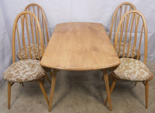 Ercol Light Elm Dining Group